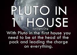 in house meaning pluto in 1st house meaning sun signs