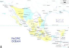 Map Of Veracruz Mexico by Political Map Of Mexico Best Map Mexi Evenakliyat Biz