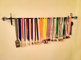 How To Hang A Curtain 92 Best Medal Display Images On Pinterest Race Medal Displays