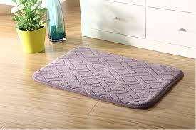 Memory Foam Rugs For Bathroom by Honana Wx 337 Thickened Coral Velvet Memory Foam Rug Bathroom Mat