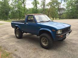 1982 toyota truck for sale toyota standard cab 1982 blue for sale