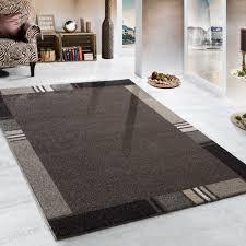 Schlafzimmer Creme Braun Schwerer Webteppich Braun Design Teppiche