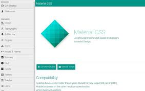 25 best material design frameworks css author