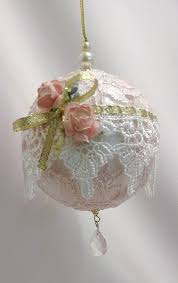 amazon com shabby chic ornament christmas decoration