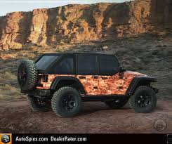 modified white jeep wrangler jeep unveils seven concept vehicles for 50th annual easter jeep