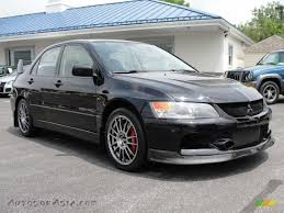 mitsubishi evolution 2006 2006 mitsubishi lancer evolution ix se in tarmac black 060669