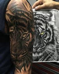 52 shockingly epic tiger tattoos tiger tigers and