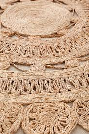 Jute Rug Lakho Woven Jute Round Rug Urban Outfitters