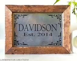Personalised Home Decor Personalized Home Etsy