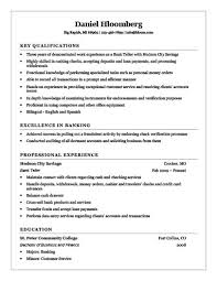 Sample Resume For Teller by Cashier Resume How To Write 16 Examples