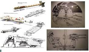the millennium falcon from concept to screen starwars com