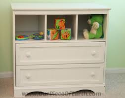 Changing Table Shelves by How To Design A Nursery On A Budget Our Piece Of Earthour Piece