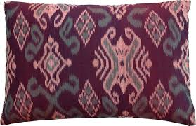 Knot Pillows by Fresh Dark Burgundy Pillows 9781
