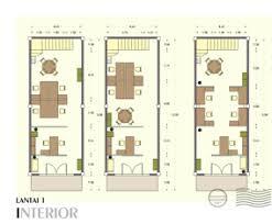 layout ruangan rumah minimalis contoh denah rumah layout annahape studio desain rumah desain