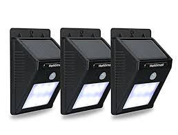 Solar Lights Outdoor Reviews - hallomall outdoor solar light and motion detector review