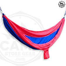 custom hammocks red royal blue camp store gear by in