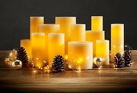 flamless candles sets with a timer 14 99