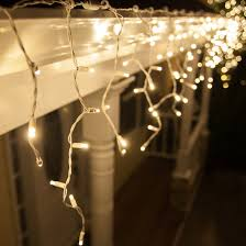 white lights led christmas lights 70 5mm warm white twinkle led icicle lights