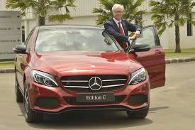 mercedes benz c class u0027edition c u0027 launched at rs 42 54 lakh
