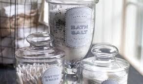 bathroom apothecary jar ideas astonishing bathroom best 25 apothecary jars ideas on