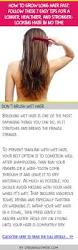 how to grow long hair fast follow these 7 easy tips for a longer