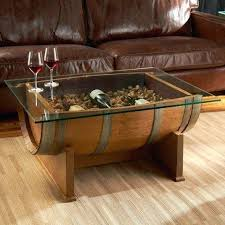 whiskey barrel table for sale whiskey barrel coffee table hand crafted wine barrel furniture and