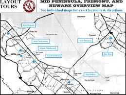 San Jose Convention Center Map 2018 o scale west s west 12 top level description