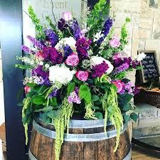 Wedding Flowers In October Purple Flower Arrangements For Funeral Purple Flowers For Weddings