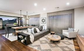 how interior designers style display homes the australian