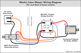 Simple Schematic Electric Cycle Counter Nick Viera Electric Lawn Mower Wiring Information