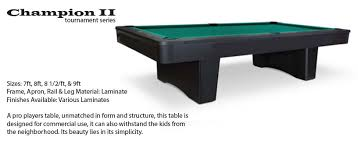 Pool Table Olhausen by Olhausen Tournament Series Pool Tables