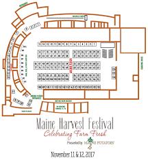 Arena Floor Plan Maineharvestfestival Floor Plan U0026 Legend