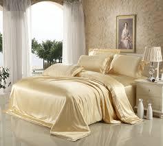 White Silk Bedding Sets 100 Mulberry Silk Bedding 4 Pieces Set Beige White Wine Brown