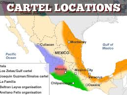 Mexico Drug Cartel Map by Drugs In Mexico By Kentsjunk