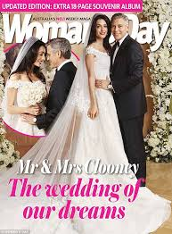 george clooney wedding george clooney and amal alamuddin wedding unveiled on