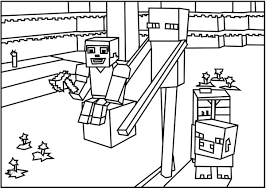 minecraft 11 minecraft coloring pages coloring for kids