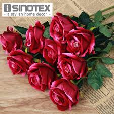popular roses artificial buy cheap roses artificial lots from