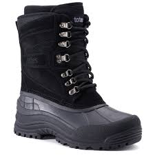 mens waterproof winter boots shoes kohl u0027s