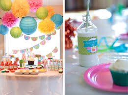 Birthday Decorations To Make At Home by A Sweet Cupcake Birthday Party Anders Ruff Custom Designs Llc