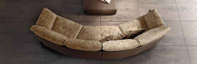 Gamma Leather Sofa by Swing Sofa Gamma Collection Gamma Arredamenti International