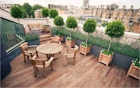 roof garden plants terrace garden plants outdoor firepit combine recessed l