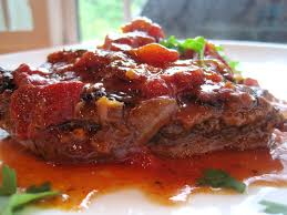 crock pot swiss steak recipe beef round steak swiss steak and