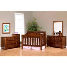 Solid Wood Convertible Crib Mission Panel 4 In 1 Convertible Baby Crib Made In Usa Baby Eco
