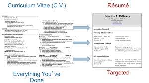 cv vs cv difference between bio data resume and cv resume bio