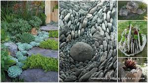 creative rock garden ideas small rock garden ideas to idyllic