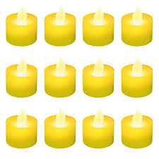 battery operated led tea light candles 12 pack free