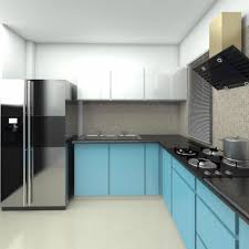 kitchen base cabinet uae l shaped blue shaded kitchen with base cabinets and white