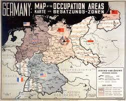 Map Of Poland And Germany by Official Map From 1945 Showing The Allied Allocation Of The