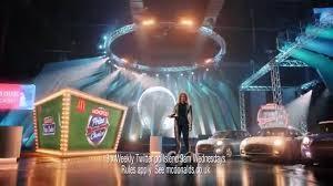 Mcdonalds Uk Monopoly Commercial Actress | mcdonalds tv advert monopoly at mcdonalds is back win cash