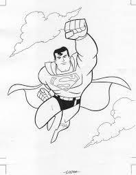 superhero superman coloring pages 25167 bestofcoloring